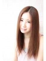 オアシスオーガニックビューティーサロン(oasis organic beauty salon)大人可愛い☆シースルーストレート