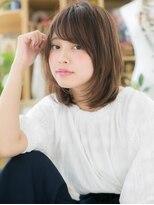 カバーヘア ブリス 北浦和西口店(COVER HAIR bliss)*bliss北浦和*ツヤ&まとまり◎前下がり小顔ミディa