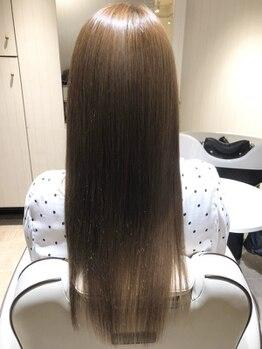 ラグーン ヘアラウンジ(lagoon hair lounge)の写真/今話題の髪質改善《OggiOtto(オッジィオット)トリートメント》と《プロの技術》で極上ご褒美ケアを。