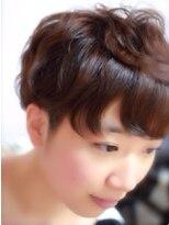【miel hair blanc】ミニマムショート