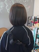 ヘア メイク ニイク(hair make niic)学生さんのボブスタイル