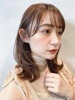 ガーデントウキョウ(GARDEN Tokyo)【GARDEN荒井夏海】小顔みせミディアムレイヤー
