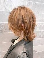 【AUBE HAIR】ソフトウェーブレイヤー_カーキベージュ