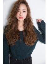 シエン(CIEN by ar hair)CIEN by ar hair片瀬『浜松可愛い』艶ベージュ×シフォンカール2