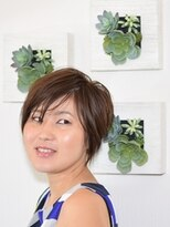 「FORCA」西香奈子 大人かわいい 小顔 ショート