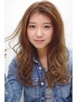 ヘアリゾート リアン(hair resort Lien)かき上げバングで大人女子 ☆Lien☆ 倉田