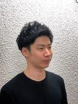 ビューティーボーイ ヤマグチ(BEAUTY BOY Yamaguchi)スッキリ無造作アップバンク