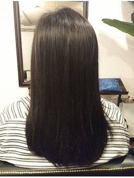 フェリックス(FELIX)の写真/髪へのダメージを最小限に抑えて、あなたの髪を理想のストレート髪へと導いてくれる《FELIX》の縮毛矯正☆