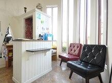 美容室 クルソンの雰囲気(笑顔でお客様をお出迎え・お見送りします♪)