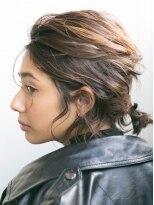 ソーコ(SOCO)【SOCO】簡単スタイリング前下がり黒髪ボブおよばれ結婚式