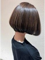 リコ ヘアアンドリラクゼーション(LICO HAIR&RELAXATION)【LICO】前下がりボブ×ナチュラルハイライト
