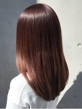 ポンヘアー(PON hair)の写真/一人ひとりに似合う透明感カラーで大人女性に寄り添うサロン◎アットホームな雰囲気で通いやすいのも魅力♪