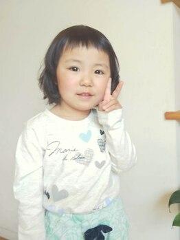 シルフ 武蔵小金井店(sylph)の写真/「子育て中でなかなか美容室に行けな い…」そんなママさんはぜひSylphへ☆お子様連れ大歓迎です♪