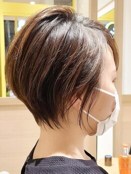 ヘアサロン R3の写真/ショート&ボブにするなら〈hair salon R3〉にお任せ!周りと差がつくショート★お家でのお手入れも簡単◎