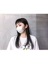 イデア(idea)【ショートバング×ロング】ヘアスナップ・佐々木