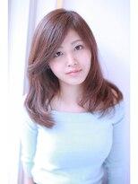 【shiomi H】カットでキマるミディアムロングヘア