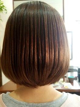 オッジ ヘアー(Oggi Hair)の写真/【話題のカラー☆】赤みが苦手な方にオススメ!アディクシーカラーで外国人風な透明感のあるアッシュに♪