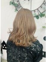 ヘアーサロン エール 原宿(hair salon ailes)(ailes 原宿)style461 ロイヤルミルクベージュ