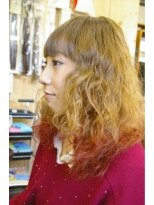 フィズヘアーアンドメイク(fizz hair&make)ガーリー+ワンポイント
