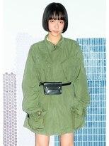 ★NUUK☆黒髪ショートなマチルダボブ