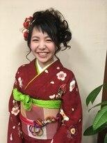 桜デコ(DECO)2017年 成人式