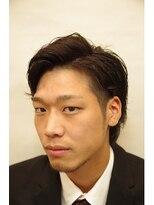ミディアム2ブロック【御茶ノ水】<理容室/メンズ/ショート>
