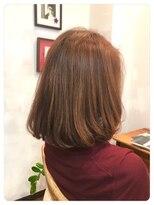 ミーノ(mieno)【髪質改善】お手入れ簡単◎ゆるふわカール◎【自由が丘】
