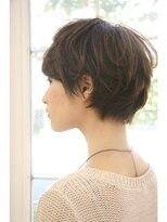 マイア 横浜駅店(hair saloon maia)女度UP!!【美シルエット】ショートグラデーション