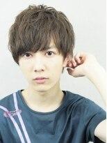 アルバム シンジュク(ALBUM SHINJUKU)ワイルドアップバングサイドパートショートテクノ_71389