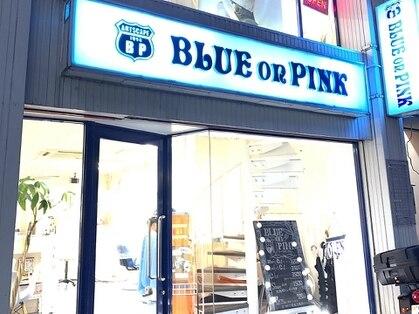 BLUEonPINK 【ブルーオンピンク】
