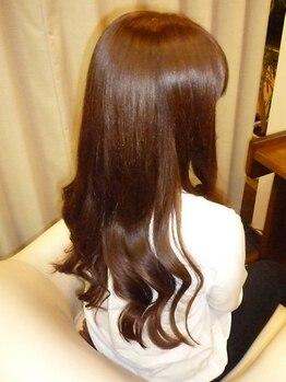 ヘアーサロン ノルテ(Hair Salon NORTE)の写真/トラウマがある方にこそオススメ!研究を重ねた、ダメージしない驚きのパーマ!コテ巻きのようなカールに♪