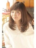 メリーランド 宮崎台店(MerryLand)短め前髪レイヤーミディ