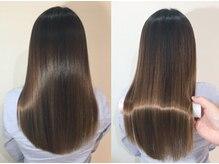 イーエムエー プレミアムビューティーサロン 栄店(e.m.a PREMIUM BEAUTY SALON)の雰囲気(髪質改善トリートメントで美髪へ♪)