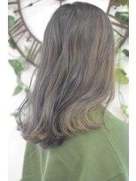 ヘアーサロン エール 原宿(hair salon ailes)(ailes原宿)style298 デザインカラー☆ミルクラベンダーブルー