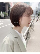 ベレーザ 渋谷(BELEZA)ba2529_小顔ダブルバングブランジュワンサイドショートボブ