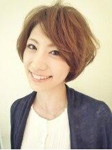 ヘアメイク パッセージ 千歳船橋店(hair make passage)大人ナチュラルショートボブ