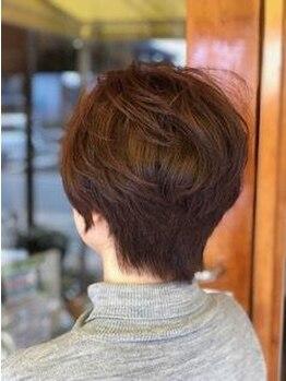 サロンド マーチの写真/刺激を最小限におさえた薬剤でダメージレスな髪色に♪和漢彩染で大人女性の上品カラーをご提案☆