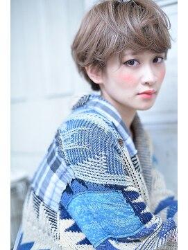 ラベリー(LOVELEY)7/20 OPEN A/W アッシュベージュショートボブ☆306