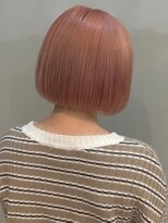 ソース ヘア アトリエ 京橋(Source hair atelier)【SOURCE】コーラルピンク