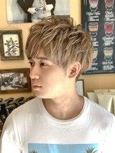 オムヘアーフォー(HOMME HAIR 4)ミルクティーベージュ【HOMME HAIR4 熊田】