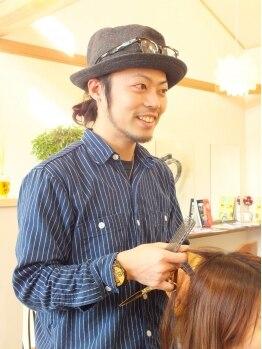 ペルヘ(hair salon perhe)の写真/【大津/当日予約,お子様同伴大歓迎♪】男性オーナーがマンツーマンで施術◎何でも話せて緊張しない♪