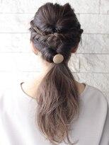 ヘアーデザイン スロープ 稲毛海岸店(Hair Design Slope)簡単ロングアレンジ