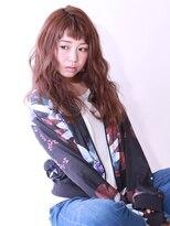 ブラン(Blanc)【Blanc hair】波ウェービーロング