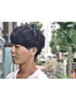 ヘアーアイスカルテット(HAIR ICI QUARTET)メンズ マッシュショート
