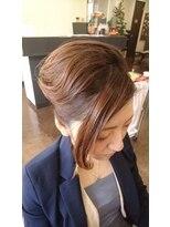 髪の流れを利用したカッコいいスタイル