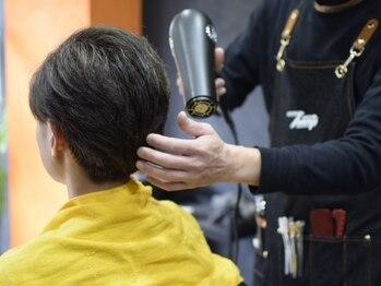 バーバートミーズ(BARBER Tommy's)の写真/スタイリスト一人一客制!髪のお悩みや毎日のセット方法など、専属スタイリストに何でもお任せください!
