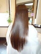 ヘアーサロン ノルテ(Hair Salon NORTE)超音波イオン生トリートメント+スペシャル縮毛矯正
