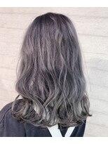 センシズヘアーデザイン 八王子(SENSES hair design)lavender silver