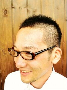 リノ ヘア 横浜西口店(RINO Hair)人気NO2★男の定番ベリーショート、オシャレなサラリーマン風