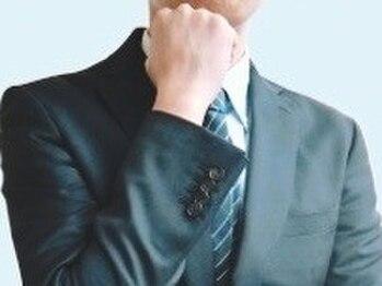 ヘアーサロン ホクトの写真/清潔感のある、お手入れしやすいビジネスマンスタイルが叶う。シェービングと眉カットもオススメです!